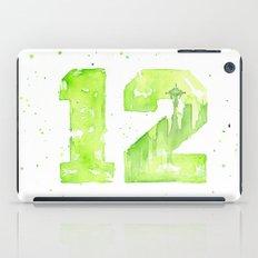12th Man Seattle Art iPad Case