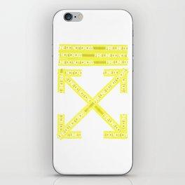 Off-White Firetape Arrows iPhone Skin