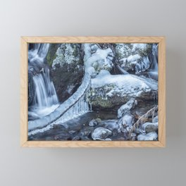 Ice and Water, No. 4 Framed Mini Art Print