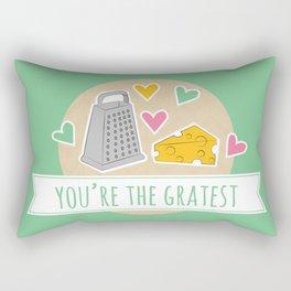Gratest Food Pun Rectangular Pillow