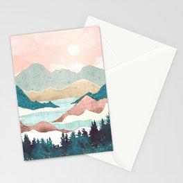 Lake Sunrise II Stationery Cards