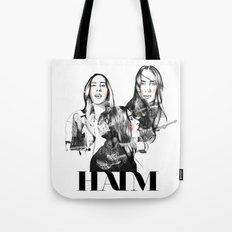 Haim the band Tote Bag