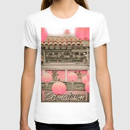 Los Angeles Chinatown Sign T-shirt
