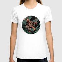 diver T-shirts featuring Diver by Rafael T. Pimentel