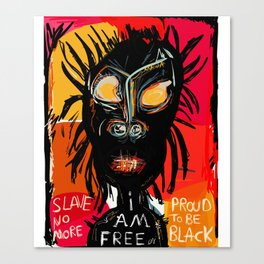 Slave no more Canvas Print