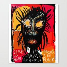 Slave no more Canvas Print