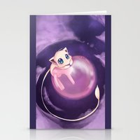 mew Stationery Cards featuring Mew by Sunny
