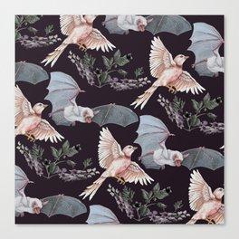 Release the Bats Canvas Print