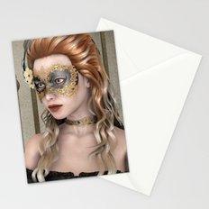Masquerade Mask Stationery Cards