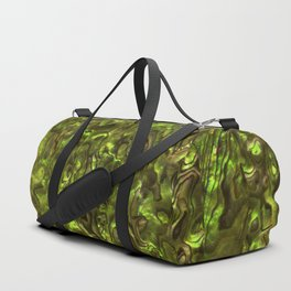 Abalone Shell | Paua Shell | Yellow Tint Duffle Bag