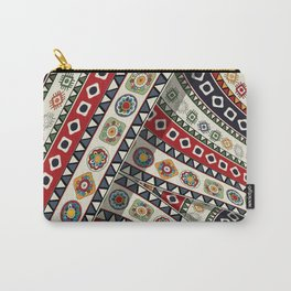 Abstract tribal background Carry-All Pouch
