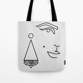 Edie Sedgwick Tote Bag