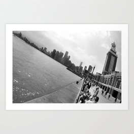 Chicago from Navy Pier Art Print