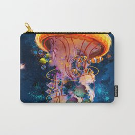 Electric Jellyish World Carry-All Pouch