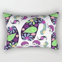 Turkish cucumber pattern #D12 Rectangular Pillow