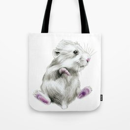 Sweet hamster Tote Bag
