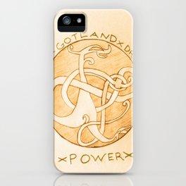 The Gotland Dragon - Version 2 iPhone Case