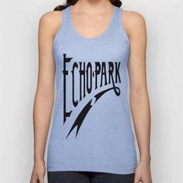 Echo Park Script Unisex Tank Top