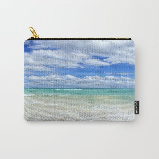 Playa Del Carmen Beach Carry-All Pouch