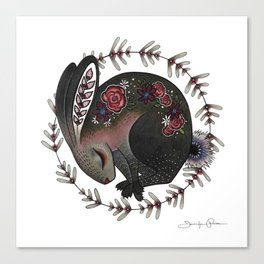 Angora Canvas Print