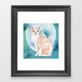 Chippy Framed Art Print