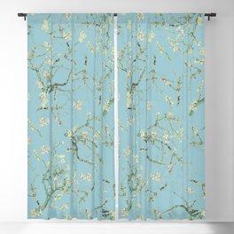 Original Van Gogh Almond Blossoms - Seamless Pattern Blackout Curtain