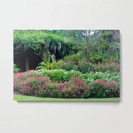 Pergola Garden Metal Print