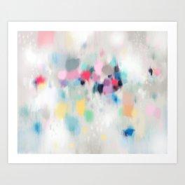 Dreamy Abstract Art Print