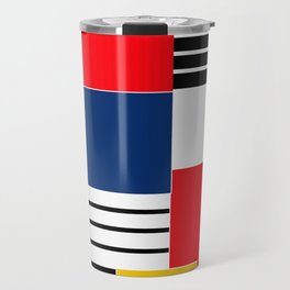 Abstract pattern . Credo . Travel Mug