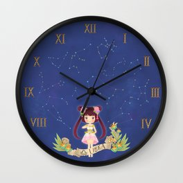 LIBRA my cute horoscope Wall Clock