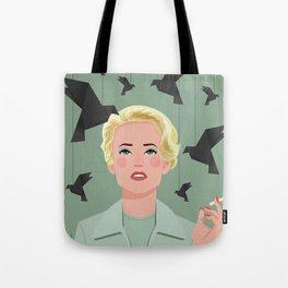 Tippi Hedren. The Birds  Tote Bag