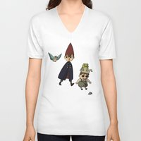 over the garden wall V-neck T-shirts featuring Over the Garden Wall by Kallian