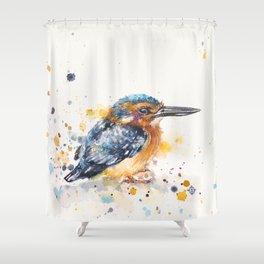 Kingfisher Lane Shower Curtain