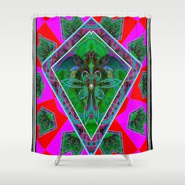 Forest Pixies Shower Curtain