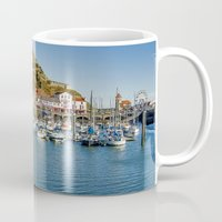 marina and the diamonds Mugs featuring The Marina by TK Photography
