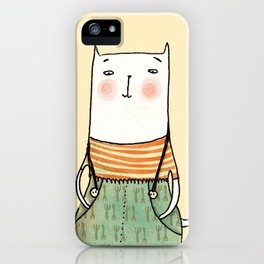 Gato con Botas iPhone Case