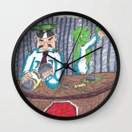Customs & Paints Wall Clock