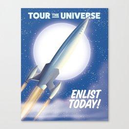 Tour the Universe! Canvas Print
