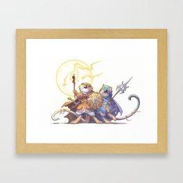 bedouin gerbil Framed Art Print