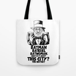 Classic Oswald Cobblepot: The Penguin Tote Bag