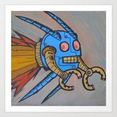 Sputnik ED Art Print