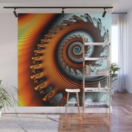 The elektric spiral Wall Mural