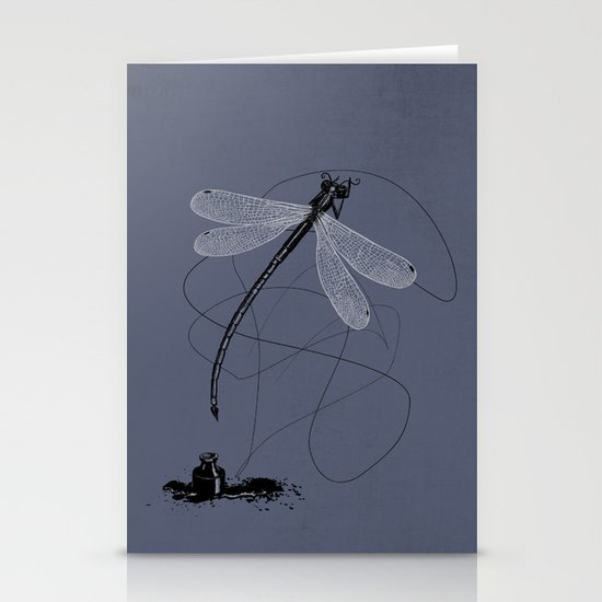 Here, There & Back Again (P). Stationery Cards
