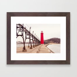 Grand Haven Framed Art Print