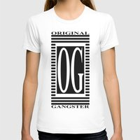 gangster T-shirts featuring ORIGINAL GANGSTER by Robleedesigns