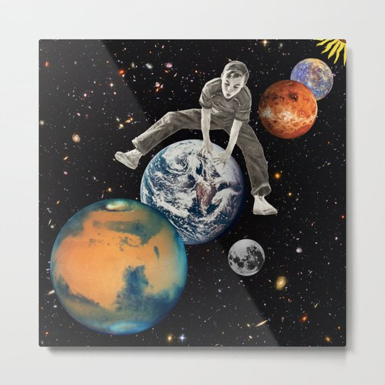 Star Hopper Metal Print