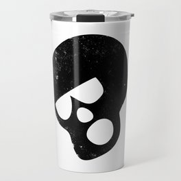 Skull saying Boo Travel Mug