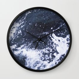 Sea of Pulses Wall Clock