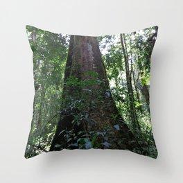 Strangler Fig Throw Pillow