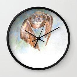 owl incoming! Wall Clock